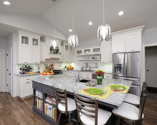 Countertop Dishwasher Ireland : Silver Cloud Granite Design Ideas & Remodel Pictures Houzz