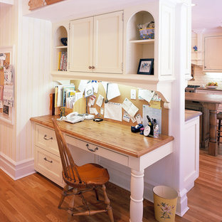 Built In Kitchen Desk Ideas Photos Houzz