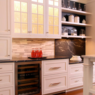 New Canaan, CT - Traditional - White Kitchen