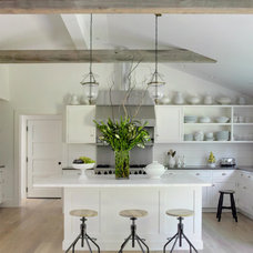 Eclectic Kitchen by shelley morris interiors