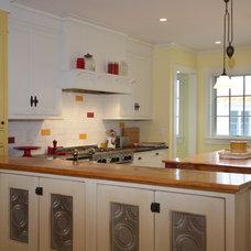 Farmhouse Kitchen by Encore Construction