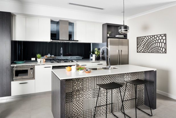 Contemporary Kitchen New Choice Homes - The Cube