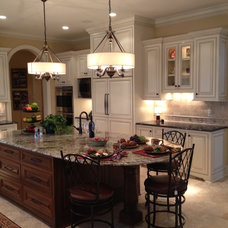 Traditional Kitchen by Anne Francois @ Collaborative Design