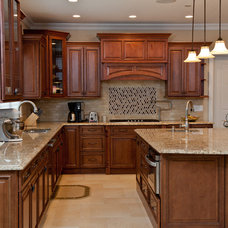 Transitional Kitchen by Argo Construction Corp