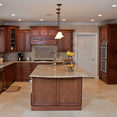 Traditional Kitchen by Argo Construction Corp