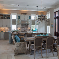 Beach Style Kitchen by Grand Bay Construction