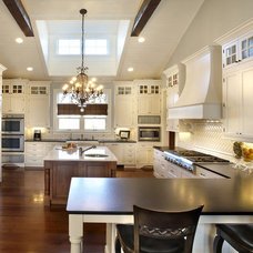 farmhouse kitchen by Kristin Petro Interiors, Inc.