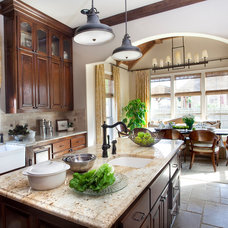 traditional kitchen by Liv By Design Interiors