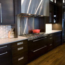 modern kitchen by PROjECT. interiors + Aimee Wertepny
