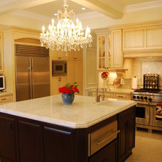 Mediterranean Kitchen by Sienna Blanca Design, Inc.