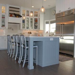 New Construction White Kitchen