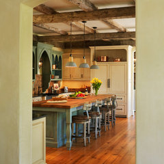 mediterranean kitchen by Barnes Vanze Architects, Inc