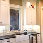 New French Doors Traditional Kitchen Portland By