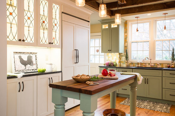 Kitchen of the Week: Renovation Honors New England Farmhouse's History