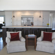 Traditional Kitchen New Family Room and Kitchen