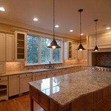 Traditional Kitchen by Ruhf Plitt Architects, Ltd.
