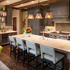 Traditional Kitchen by Kyle Hunt & Partners, Incorporated