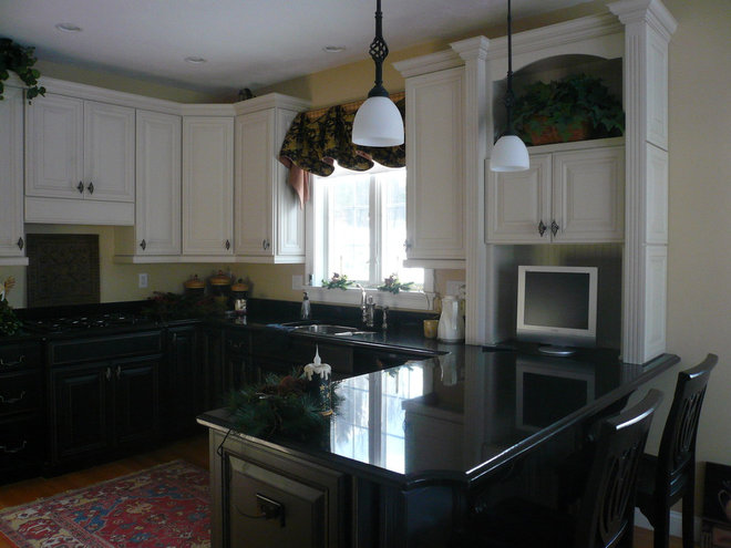 Traditional Kitchen by New England Fine Living