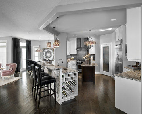 Transitional Edmonton Kitchen Design Ideas Remodel Pictures Houzz