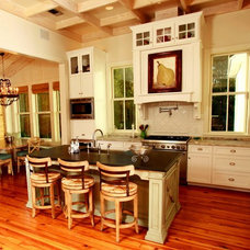 Traditional Kitchen by Brandon Construction Co. Inc.