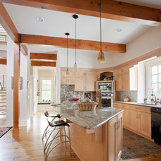 Contemporary Kitchen by Design Build Team Inc