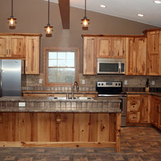 Rustic Kitchen by Kristin Bice