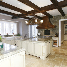 Traditional Kitchen by Pence Quality Homes, LLC