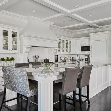 Beautiful Custom White Kitchen