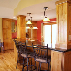 Traditional Kitchen by Dominion Builders