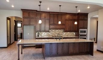 New House Build Showcasing York Chocolate Cabinets #