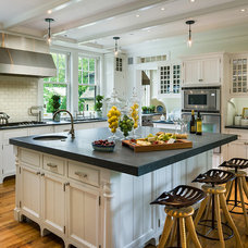 Traditional Kitchen by Peter Zimmerman Architects