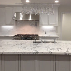 Eclectic Kitchen by La Pietra Marble, Inc.