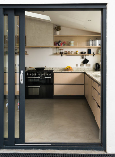 Scandinavian Kitchen by Integrate Design and Build