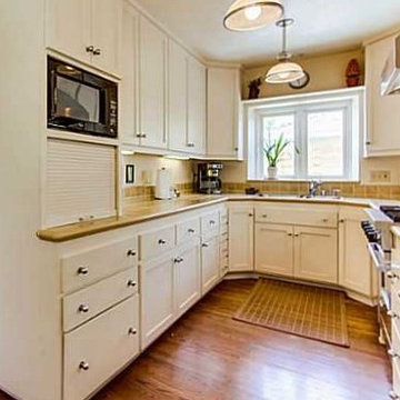 New Kitchen, Clean-Lined Style