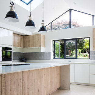 New Kitchen Design at the Single Storey Rear Extension
