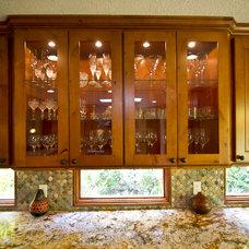 Eclectic Kitchen by Monarch Kitchen and Bath Design, LLC