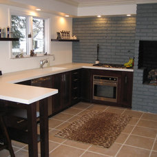 Contemporary Kitchen New Kitchen