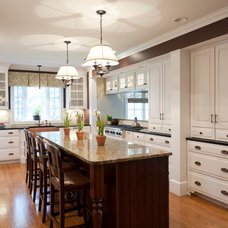 traditional kitchen by Ellen McKenna Design