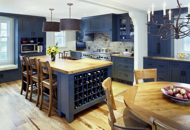 Traditional Kitchen by Jonathan Cutler, AIA