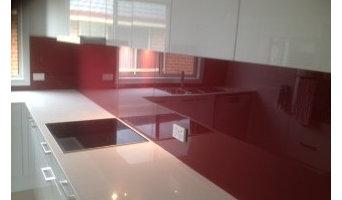 New kitchen splashbacks