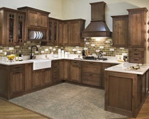 Coffee Glazed Cabinets   Houzz