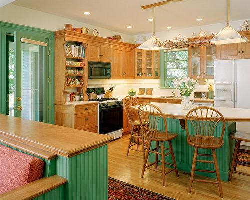 backsplash victorian kitchen design photos with white appliances