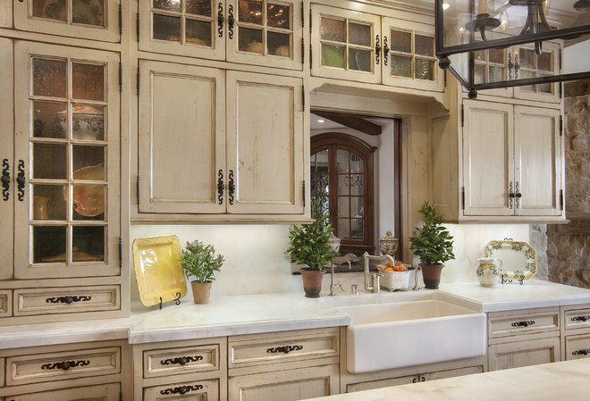 Mediterranean Kitchen by GDC Construction