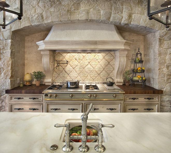 Mediterranean Kitchen by GDC Construction