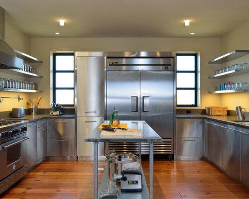 Stainless Steel Kitchen Houzz