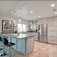 Contemporary Kitchen by Reborn Cabinets Inc.