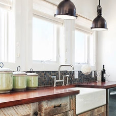 Industrial Kitchen by Serenity Design