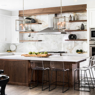 Beach Style Eat In Kitchen Pictures   Eat In Kitchen   Beach Style L