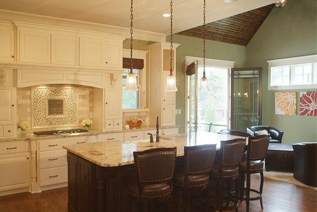 Traditional Kitchen by Plattner Custom Builders, LLC