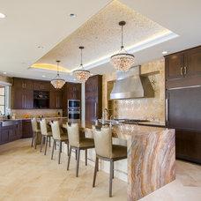 Contemporary Kitchen by Weiss Alexander Design Group